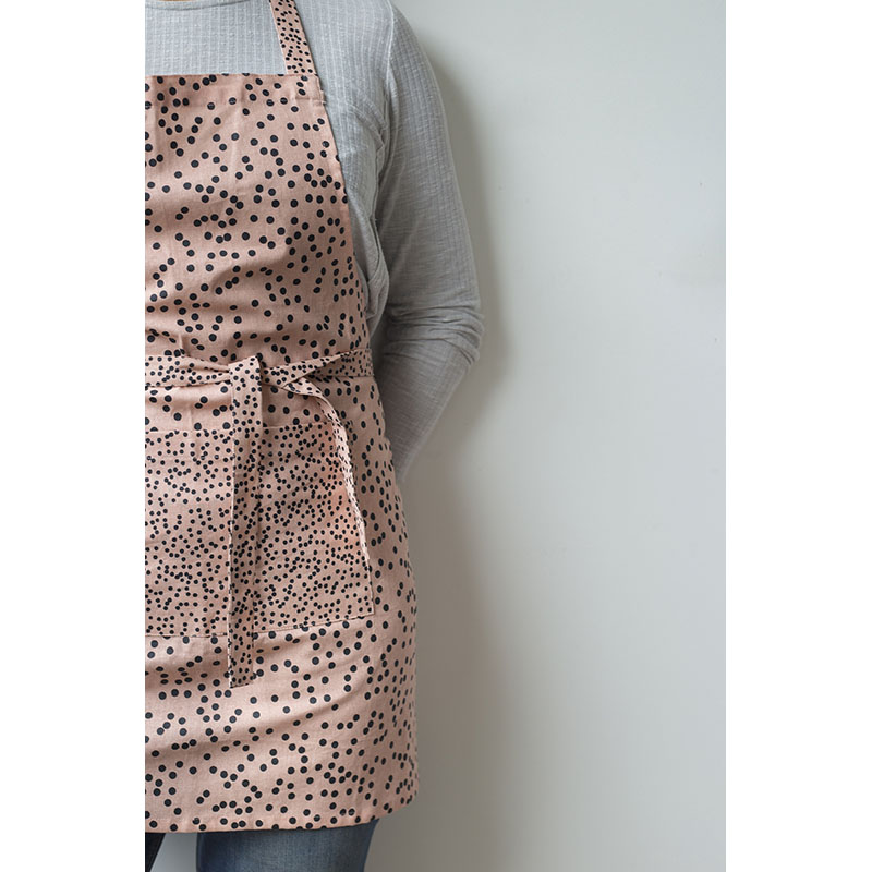 Fruity spots Apron - Pink (boxed)