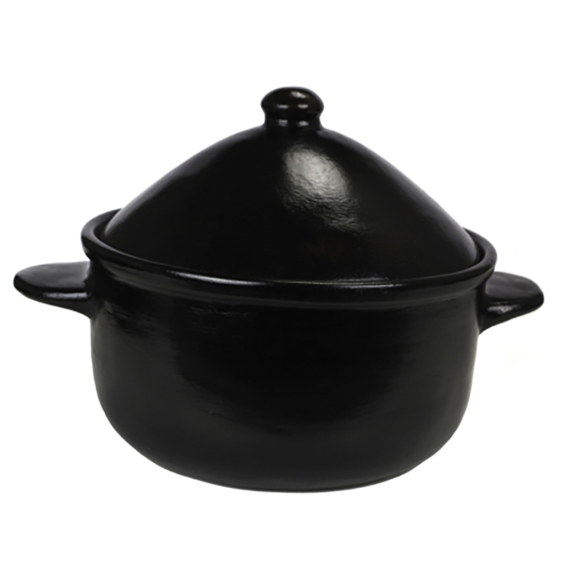 Large Contemporary Casserole with Lid