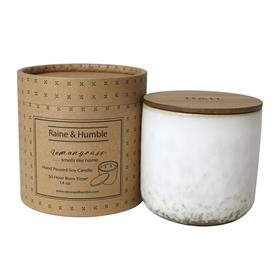 Scented Soy Candle/Canister Lemongrass