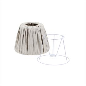 Linen Lamp Shade Taupe