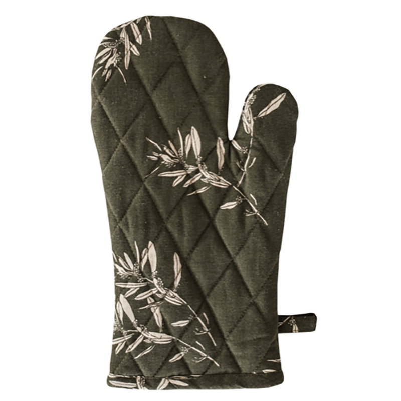 Olive Grove Oven Glove Olive Green