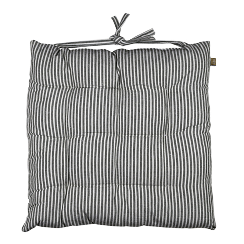 Abby Stripe Seat Cushion Olive