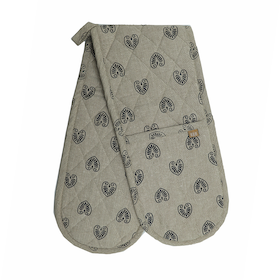 Mandalay Double Oven Glove - Navy