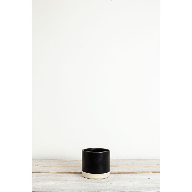 Tilli Black Small Plant Pot 9.5x10cm