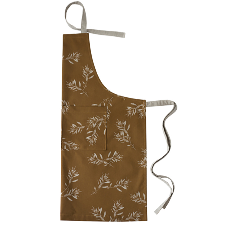 Olive Grove Apron Mustard