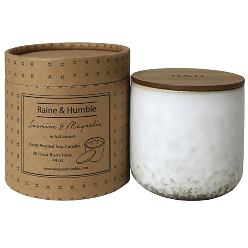 Scented Soy Candle/Canister Jasmine & Magnolia