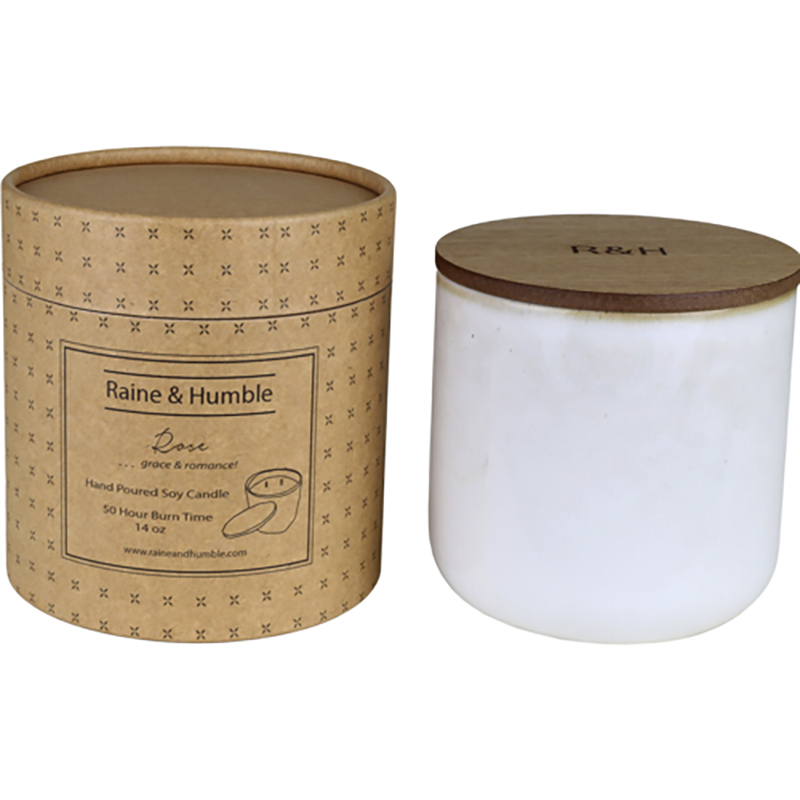 Scented Soy Candle/Canister Rose