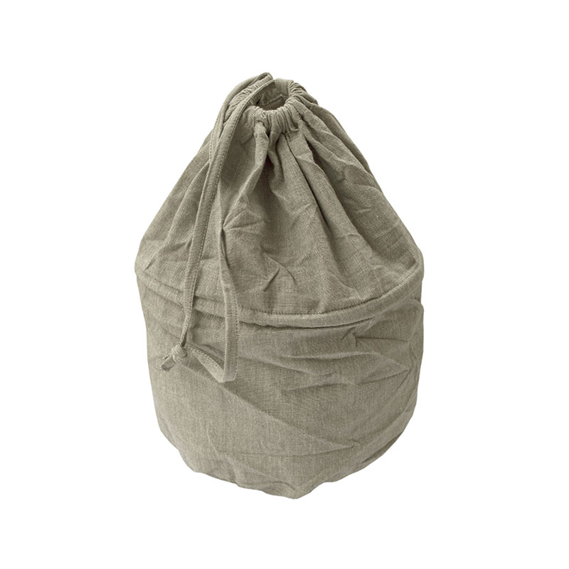 Chambray Laundry Bag Taupe
