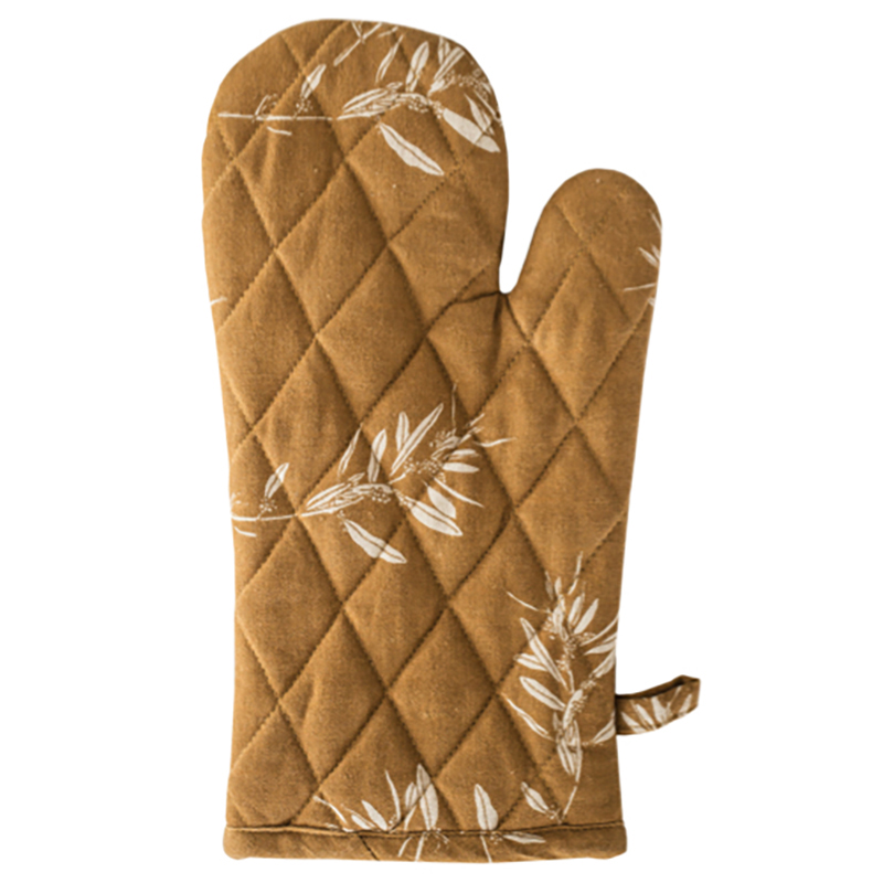 Olive Grove Oven Glove Mustard