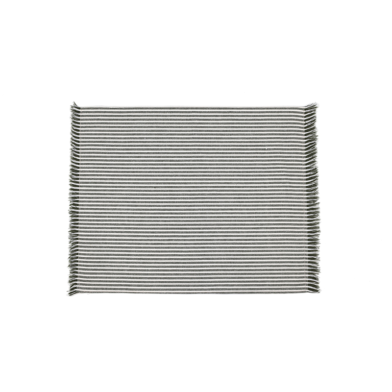 Abby Stripe Placemat Olive - Double sided --Set of 4