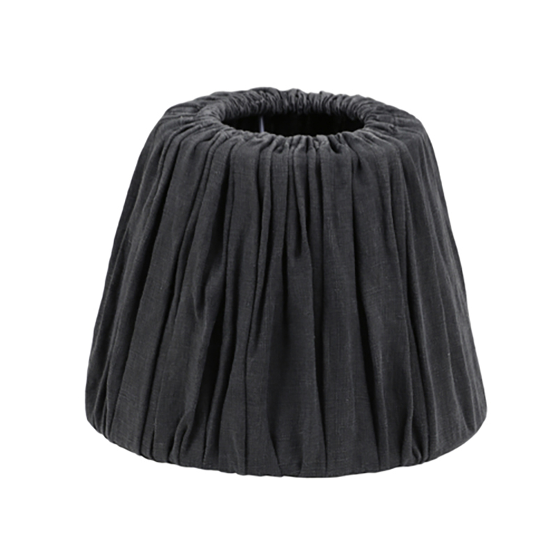 Linen Lamp Shade Charcoal